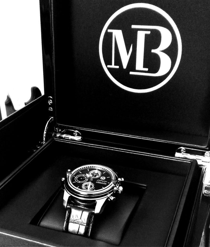 Luxury watch chronograph Thunderbird