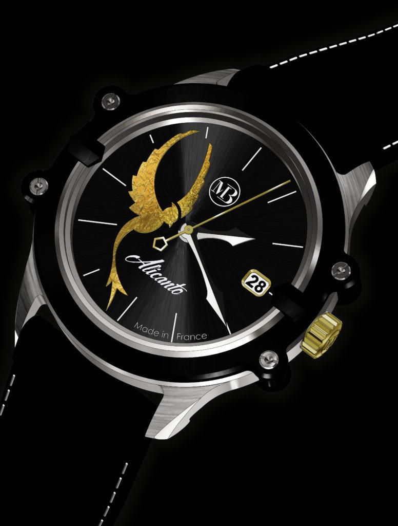 Alicanto 3D Luxury watch for ladies