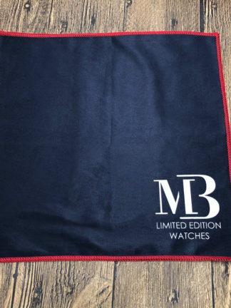 Tissu microfibre avec logo MB Watches
