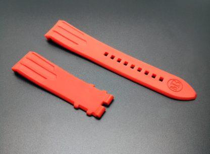 Bracelet Caoutchouc montre phénix 3 quarts